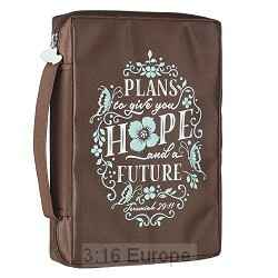 Bijbelhoes - Hope And Future - Printed Polyester