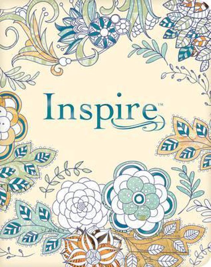 Inspire Bible-NLT The Bible for Creative Journaling