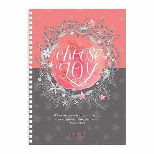 Journal - Softcover - Choose joy