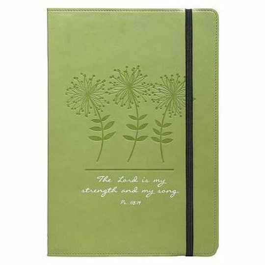 Journal - Lux Leather - Green
