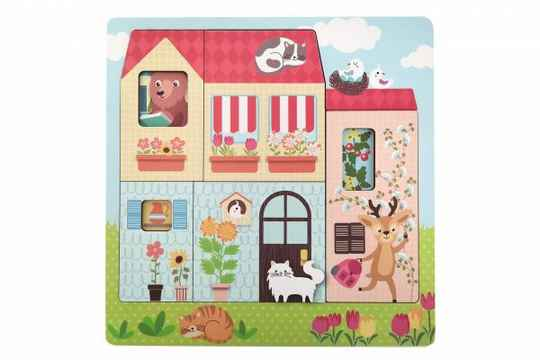 Puzzel - Huis - 3 laags