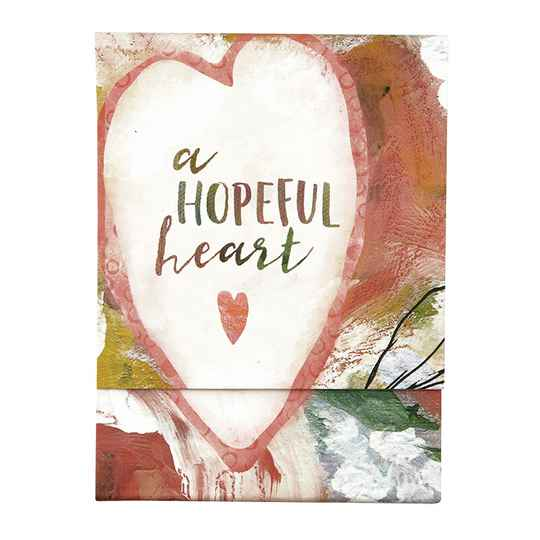 Notepad  Pocket - Hopeful Heart