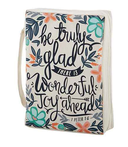 Bijbelhoes - Canvas - Be Truly Glad