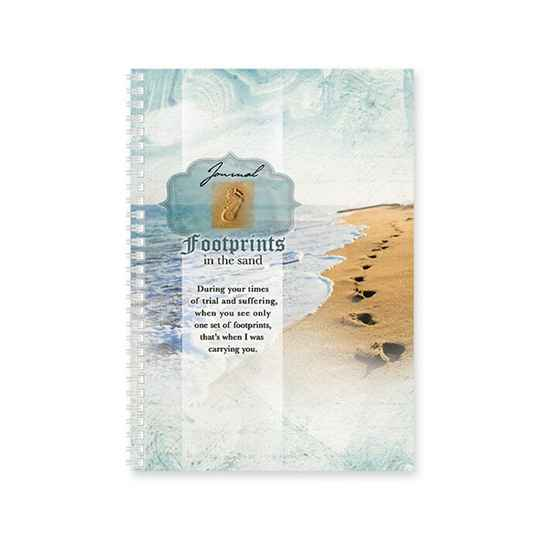 Dagboek - Softcover -  Footprints