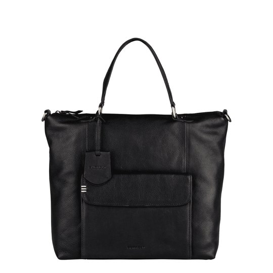 SALE Burkely Craft Caily Hobo Shopper Zwart