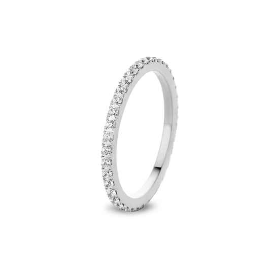 Melano Jewelry Friends Sade Crystal Ring Zilver