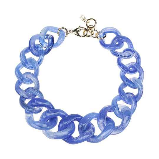 Camps & Camps Collier bluebird super chunky chain