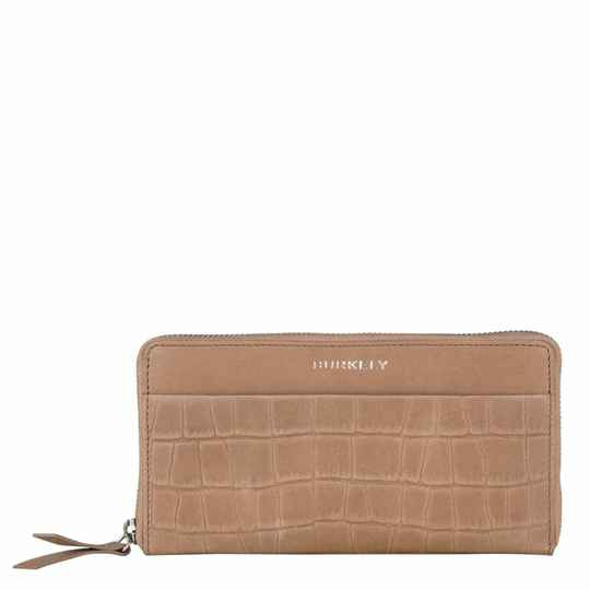 Burkely Croco Caia Wallet L Portemonnee Taupe