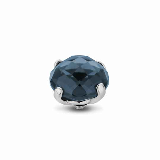 Melano Jewelry Twisted Facet Bold Steentje Midnight