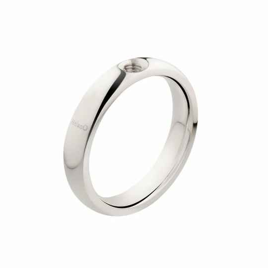 Melano Jewelry Twisted Tracy Ring Zilver