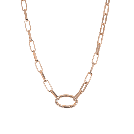 iXXXi Jewelry Collier Square Chain Rose Goud