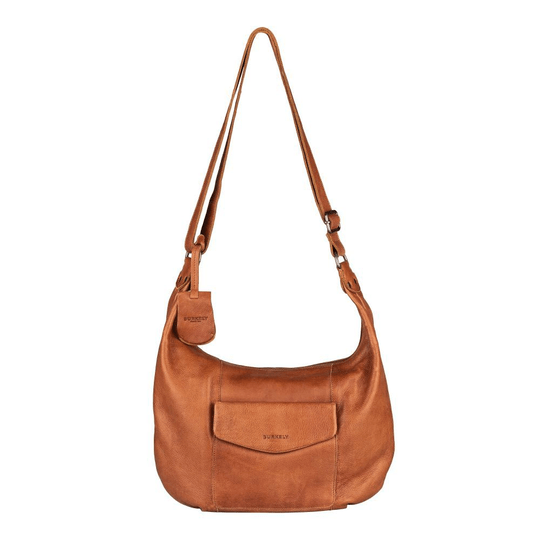 SALE Burkely Just Jackie | Banana Hobo Cognac