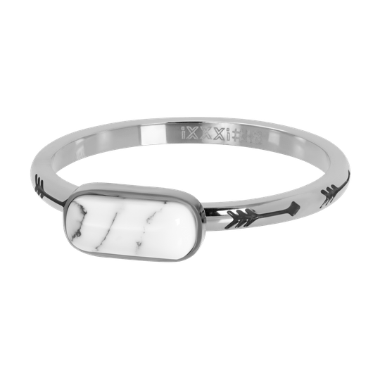 iXXXi Jewelry vulring 2mm Festival White Zilver