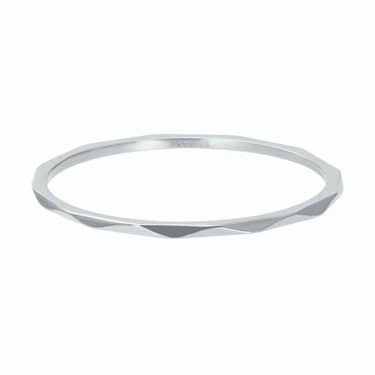 iXXXi Jewelry vulring 1mm Wave Zilver