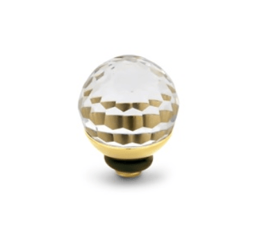Melano Jewelry Twisted Disco Ball Crystal
