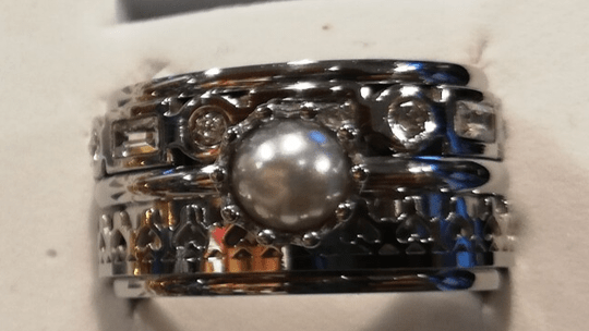 iXXXi Jewelry Complete Ring 12mm Parel Zilver