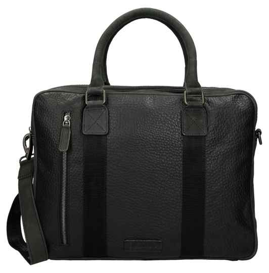 SALE Micmacbags Laptoptas 15.6'' Zwart
