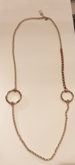 SALE Camps & Camps Collier Gold chain met Strass