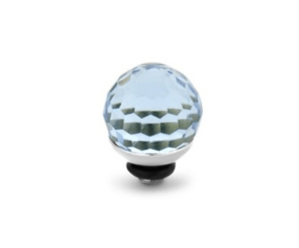 Melano Jewelry Twisted Disco Ball Aquamarine
