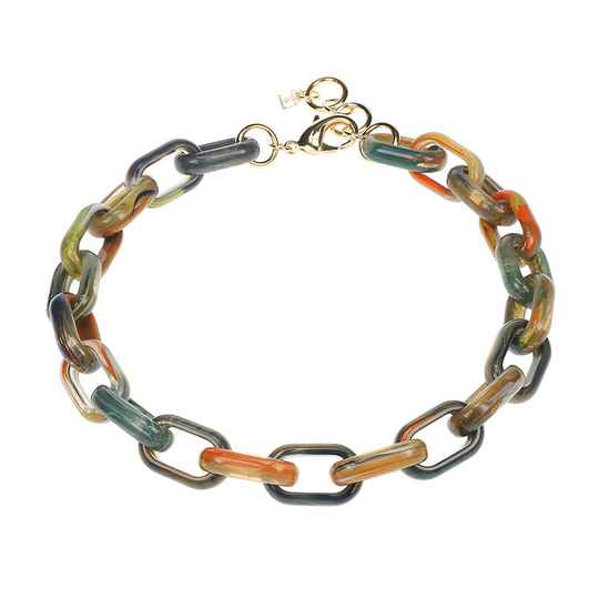 Camps & Camps Collier grasshopper oval link chain