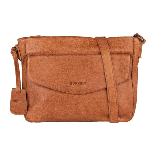 Burkely Just Jackie | Crossover L Flap Cognac