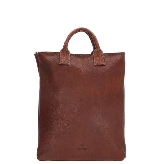 Micmacbags Discover Laptop Rugzak 15,6 inch 18298 Cognac