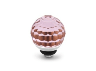 Melano Jewelry Twisted Disco Ball Rose