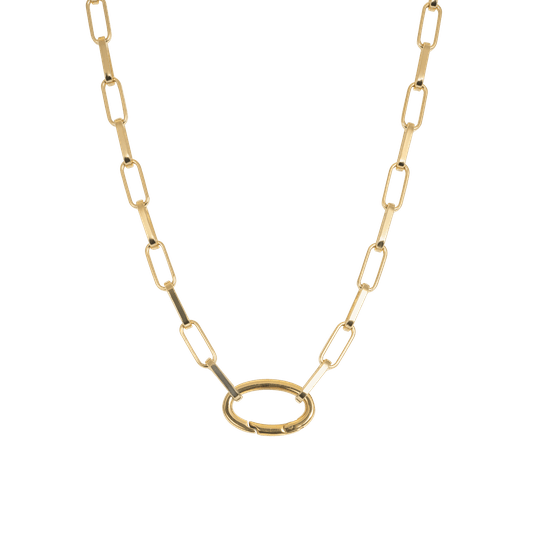 iXXXi Jewelry Collier Square Chain Goud