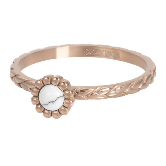 iXXXi Jewelry vulring 2mm Inspired White Rosé
