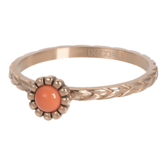 iXXXi Jewelry vulring 2mm Inspired Coral Rosé