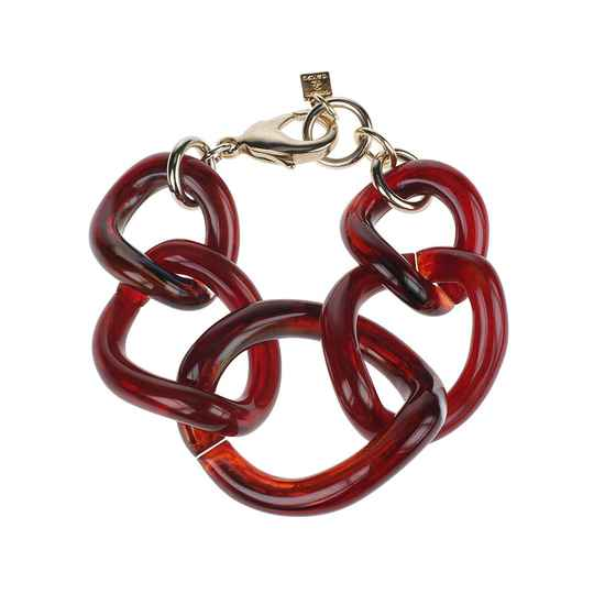 Camps & Camps Armband totally vogue burgundy bracelet (rood)