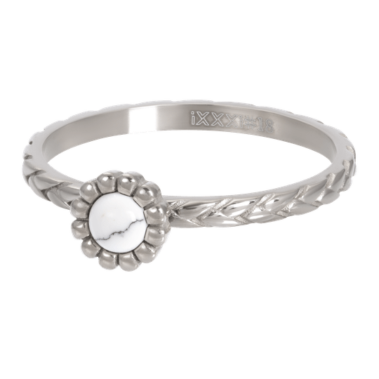 iXXXi Jewelry vulring 2mm Inspired White Zilver