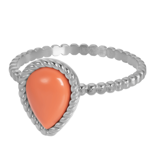 iXXXi Jewelry vulring 2mm Magic Coral Zilver