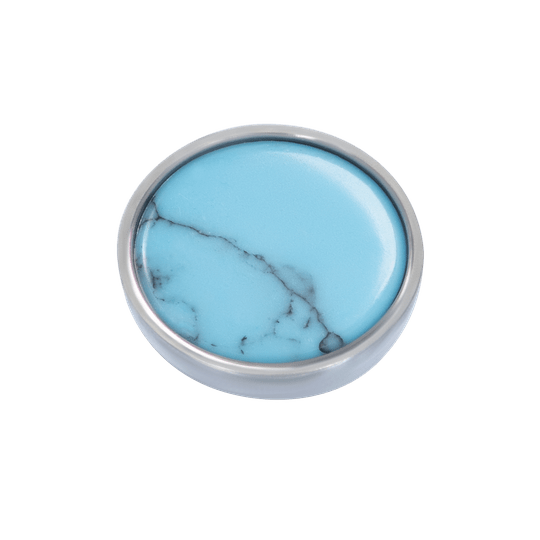 iXXXi Jewelry Top part Bohemian Turquoise Zilver