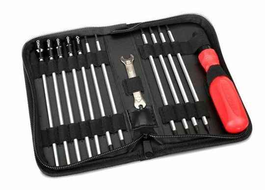 Tool set with bag (includes 1.5, 2.0, 2.5, 3.0, 3,5, 4, 5, 5.5, 7, 8 nutt