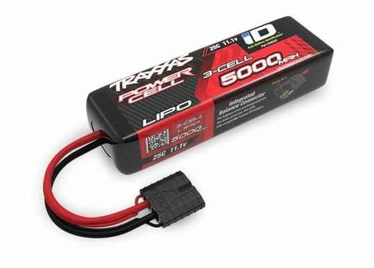 Traxxas 2832X Power Cell LiPo 5000mAh 11.1V 3S 25C short 135mm