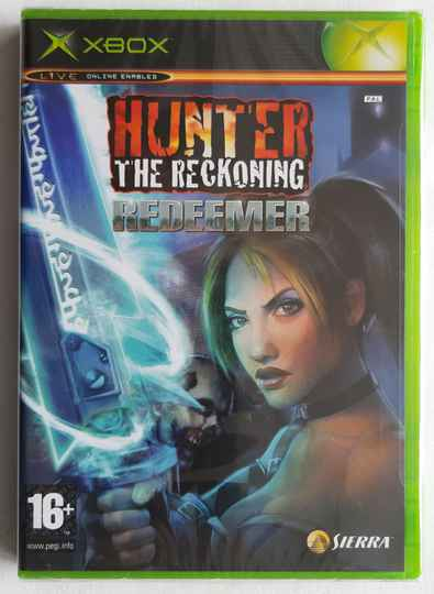 Xbox - Hunter: The Reckoning Redeemer (PAL) factory sealed