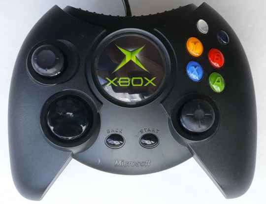 Xbox - Controller Black fat (region free) unboxed