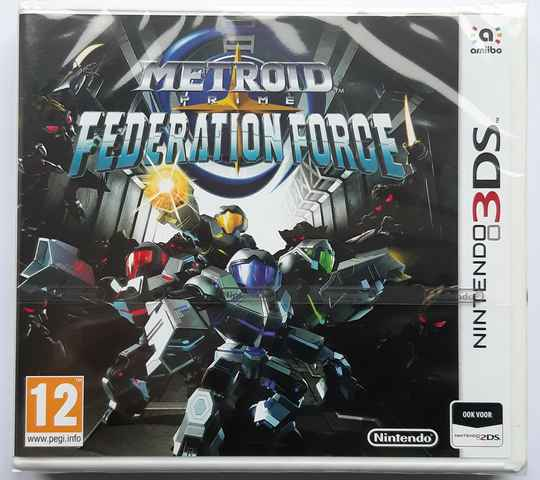 3DS - Metroid Prime: Federation Force (PAL) factory sealed