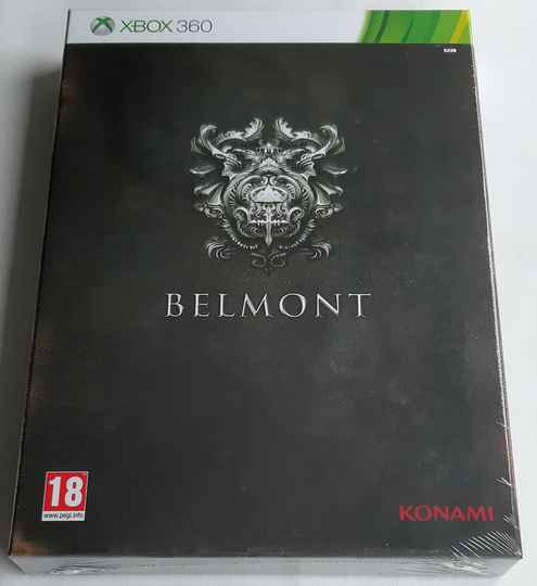 Xbox 360 - Castlevania: Lords of Shadow 2 - Belmont Edition (PAL) factory sealed