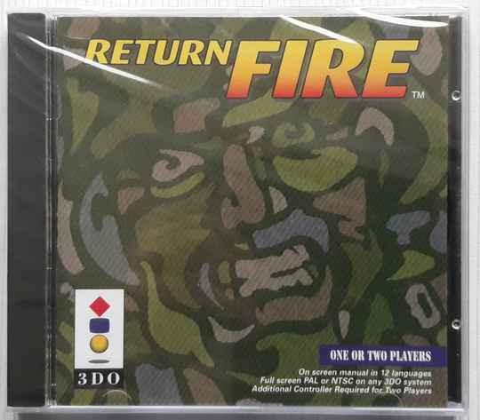 3DO - Return Fire (region free) factory sealed
