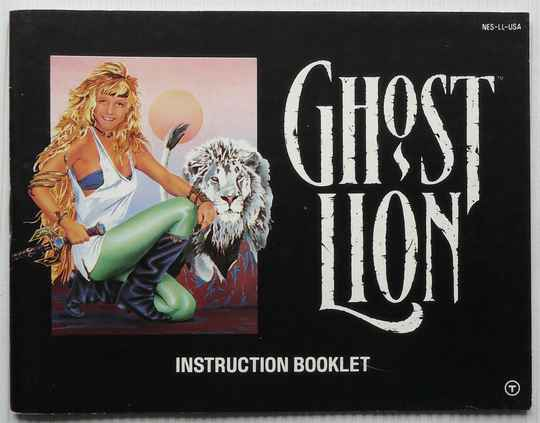 NES - Ghost Lion   instruction booklet (USA)