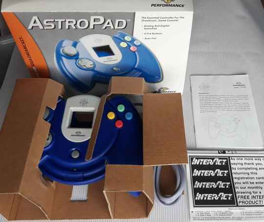 Dreamcast - Controller AstroPad Performance (region free) unused