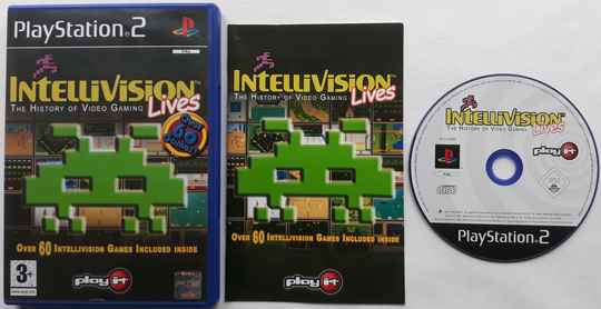 PS2 - Intellivision Lives! (PAL)