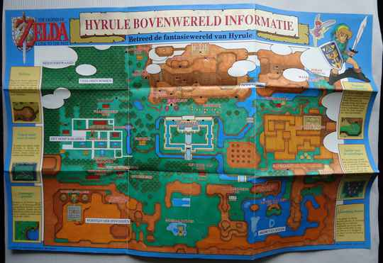 Super Nintendo - Legend of Zelda, The: A Link to the Past | map (HOL)