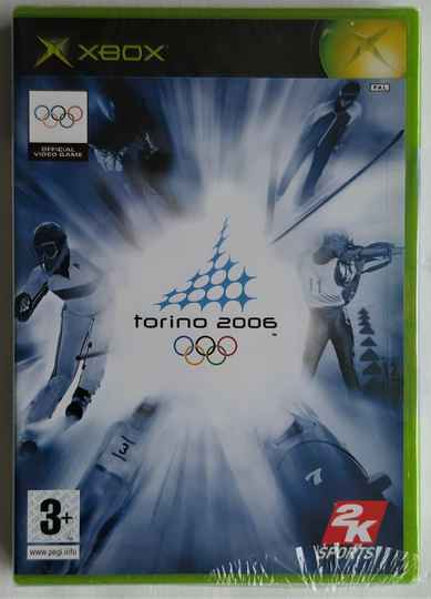 Xbox - Torino 2006 - The Official Video Game of the XX Olympic Winter Games (PAL) factory sealed