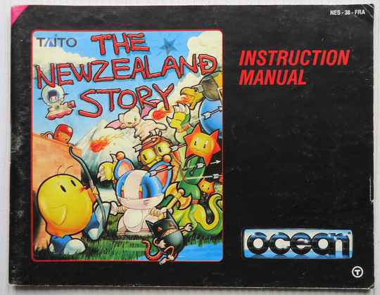 NES - New Zealand Story, The   instruction booklet (FRA)