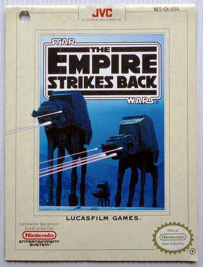 NES - Star Wars: The Empire Strikes Back   instruction booklet (USA) punch hole