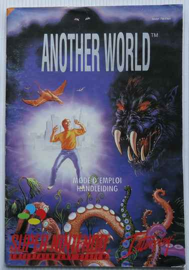 Super Nintendo - Another World | instruction booklet (FAH)