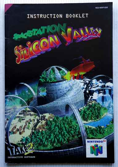 Nintendo 64 - Space Station Silicon Valley | instruction booklet (EUR)